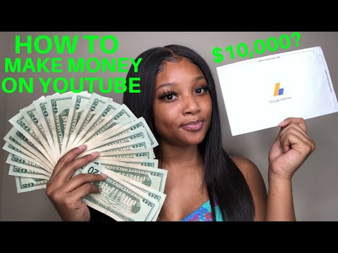 MY FIRST YOUTUBE PAYCHECK | HOW TO MAKE MONEY ON YOUTUBE FOR SMALL CHANNELS ♡