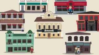 Пример рекламного ролика (BritanniaPUB)