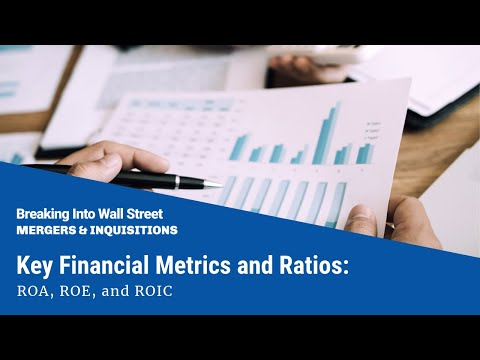 Key Financial Metrics and Ratios: ROA, ROE, and ROIC