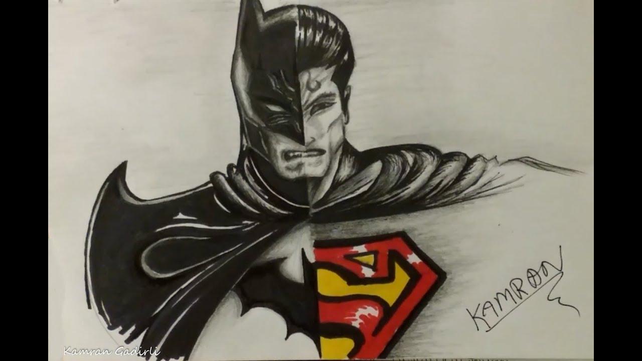 Batman Wallpaper Why Do We Fall Batman Vs Superman Drawing Timelapse Youtube