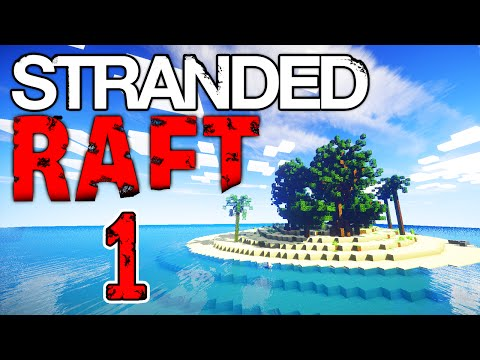 Minecraft STRANDED DEEP 1 with Vikkstar & Lachlan Minecraft Survival Island