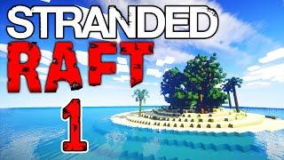 Minecraft STRANDED DEEP #1 with Vikkstar & Lachlan (Minecraft Survival Island)