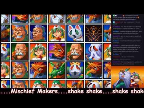 shake, shake.  Mischief Makers // 2
