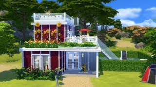 The Sims 4: Speed Build // CONTAINER HOUSE // NO CC