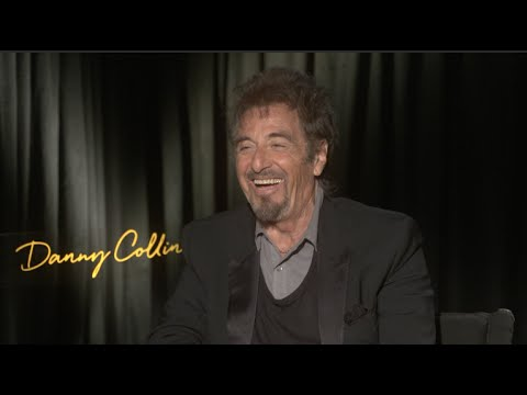 "DANNY COLLINS interview - Al Pacino sings ""Say Hello To My Little Friend"" - SCARFACE"