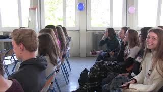 Lycée des Chaume projet Erasmus Accueil et rencontre des pays.