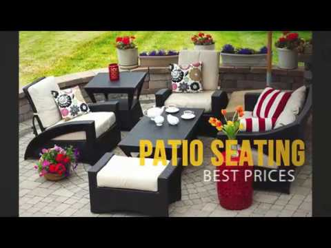 Affordable Patio Ideas: Best Solution for Discount Patio Seating.