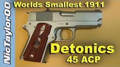 Detonics 1911 Combatmaster 45ACP Super Compact Pistol