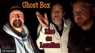 GHOST BOX - Episode 15 LIVE on location