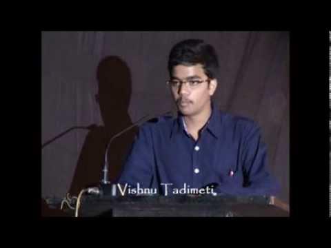 Sharing Knowledge using Technology: Vishnu Tadimeti at TEDxIIMRaipur