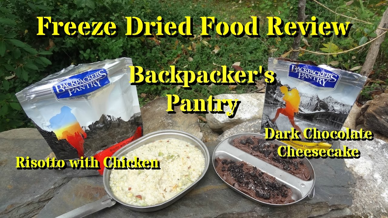 how to make freeze dried food