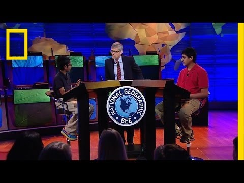 Geography bee sample questions - YouTube