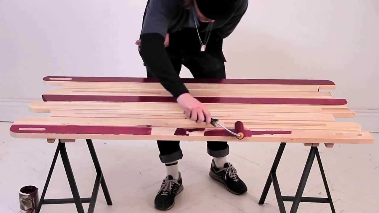 Emils DIY bord - YouTube