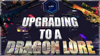 UPGRADING TILL WE GET A DRAGON LORE - DatDrop - Use Code Mercy Video