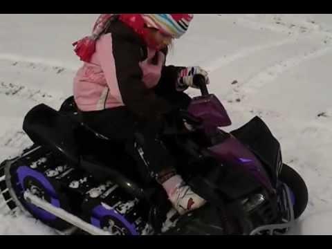 Power Wheels Snowmobile (2:21)