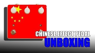 Unboxing - My First Chinese Pedal