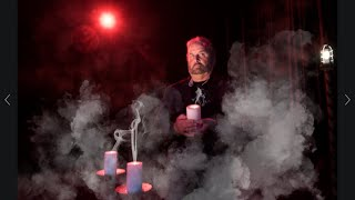Tony shows Haunted Artifacts direct from the Warren's Occult Museum.