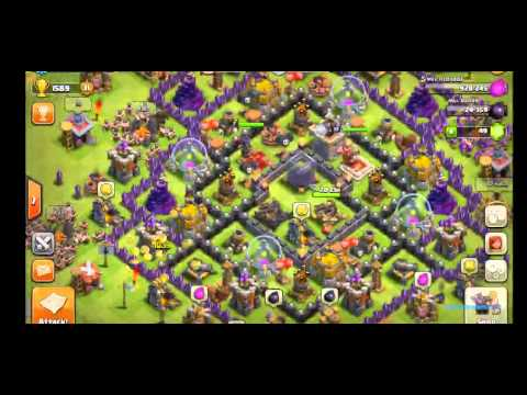 clash of clans simple  gems glitch April 2015