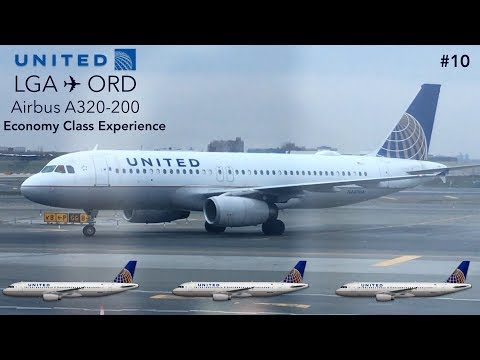 Thumbnail: TRIPREPORT | United Airlines | New York to Chicago | Airbus A320 | Economy Class Experience!