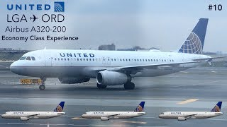 TRIP REPORT | United Airlines | New York to Chicago | Airbus A320 | Economy Class Experience!