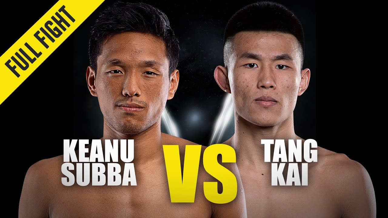 Keanu Subba vs. Tang Kai | ONE Championship Full Fight