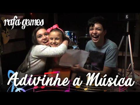ADIVINHE A MÚSICA - RAFA GOMES ft PÉROLA CREPALDI E WAGNER BARRETO