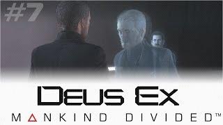 В этой части прохождения Deus Ex Mankind Divided будет минимум пострелушек и стелса и максимум сюжета Адам Дженсон