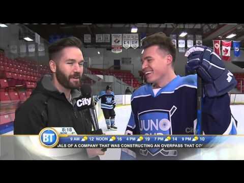 JUNO Cup Practice: Shawn Hook interview