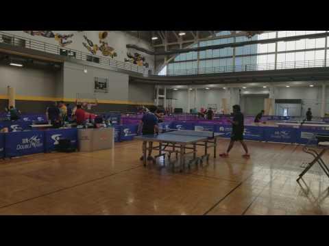 Second Annual Hawkeye USATT OPEN - Raymond Liu (2329) vs. Nachiket Joshi (2248)