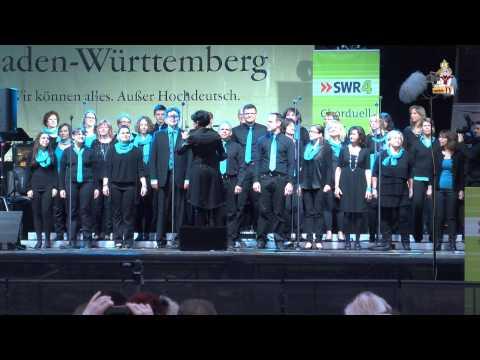 LYRIX - PHÄNOMEN @ Waiblingen Heimattage SWR4 Chorduell 2014