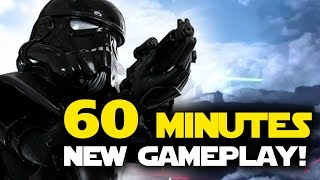 Star Wars Battlefront 60 MINUTES OF NEW GAMEPLAY! Walker Assault, Heroes, Supremacy, Drop Zone
