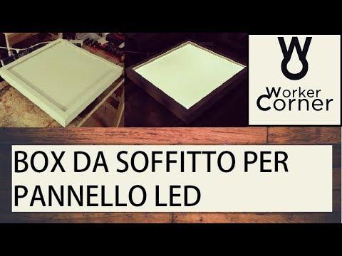 Box da soffitto per pannello LED
