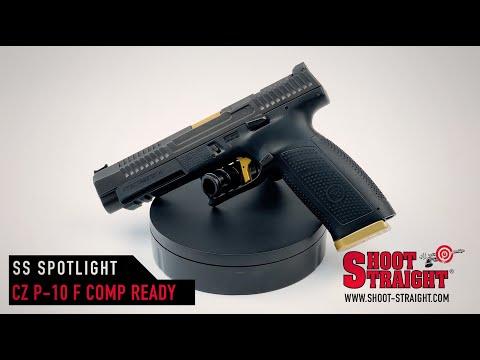 CZ P-10 F Competition-Ready 9mm Pistol - Shoot Straight Spotlight