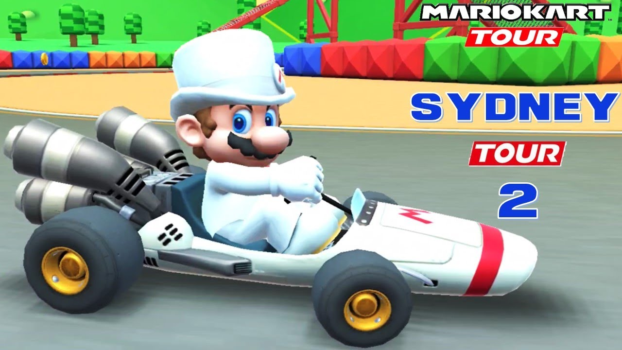 Mario Kart Tour Sydney Tour 2