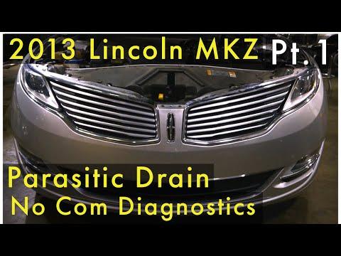 2013 Lincoln MKZ Parasitic Drain/Rear Gate Trunk Module (RGTM) No COM (Part 1)