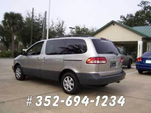 For Sale Used One Owner Toyota Sienna LE Van In Ocala Florida 8995
