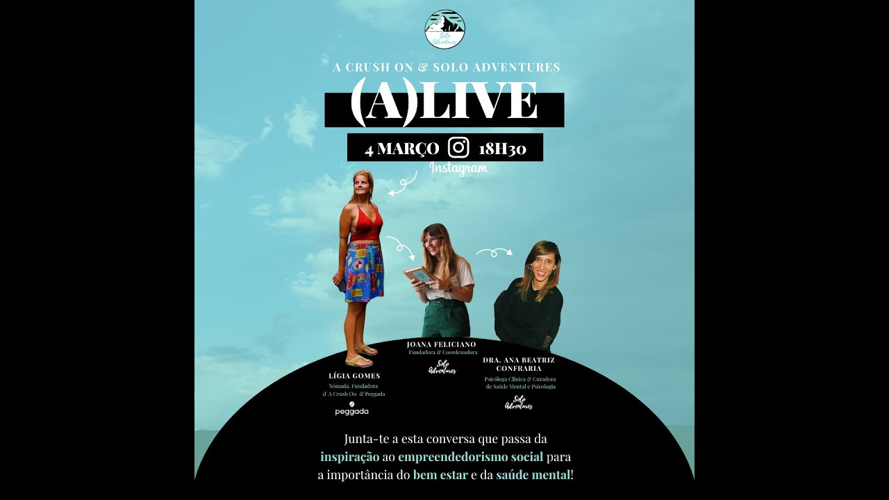 (A)live 🤳 Inspiração, Empreendedorismo e Saúde Mental