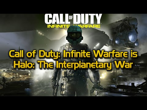 Call of Duty: Infinite Warfare = Halo: The Interplanetary War