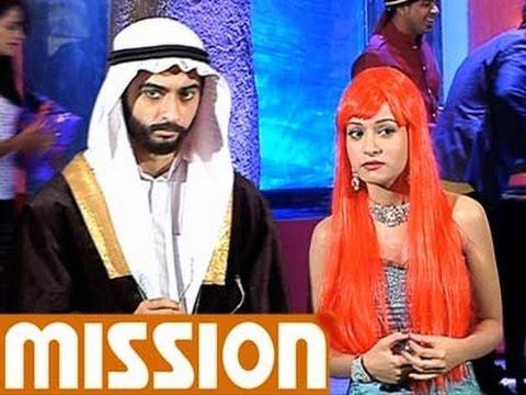 Zain and Aliya in a classic Arabic look-Beintaha