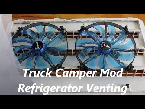 How to add Refrigerator Venting to an RV