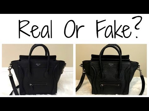 9e8c9232d9e Is My Celine Nano Luggage Bag Fake  How to Authenticate Older vs. Newer  Styles