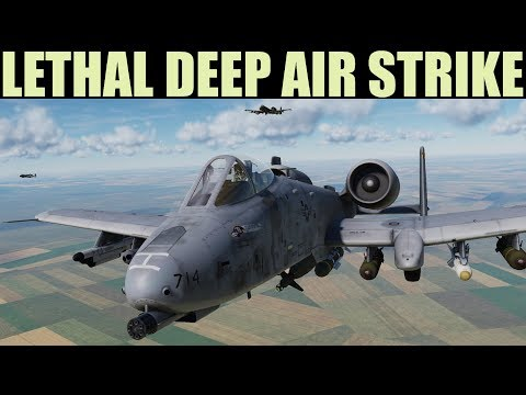 DCS 2.5 | LETHAL Long Range Air Strike To Neutralize Armoured Push