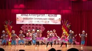 Jenius Kindergarten graduation concert 2016