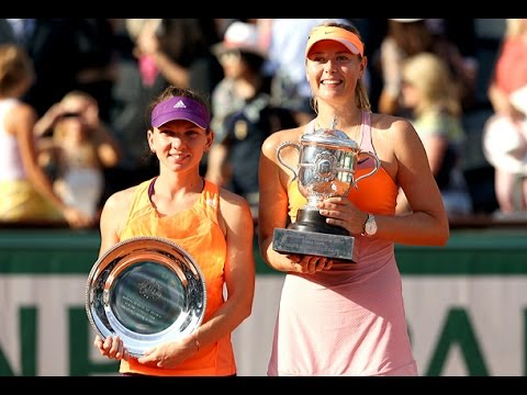 Maria Sharapova VS Simona Halep Highlight 2014 F