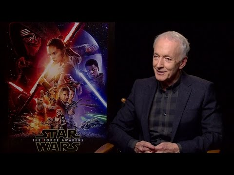 Anthony Daniels - Star Wars: The Force Awakens Interview (HD)