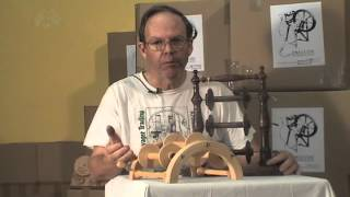 The use of a lazy kate with your spinning wheel is a must. It is th...