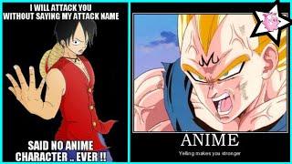 Funny Anime Logic Fails