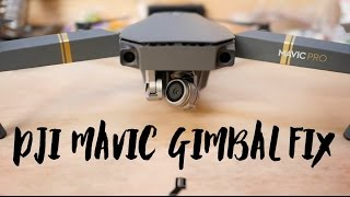 (updated version) DJI Mavic Gimbal Motor Overload Fix - Repairing Ribbon Cable