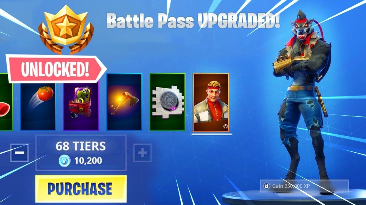 Buying All 100 Tiers Season 6 Battle Pass All Unlocked