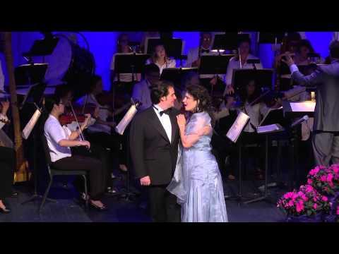 O soave fanciulla from La boheme (Puccini)